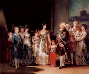 A Família de Carlos IV
